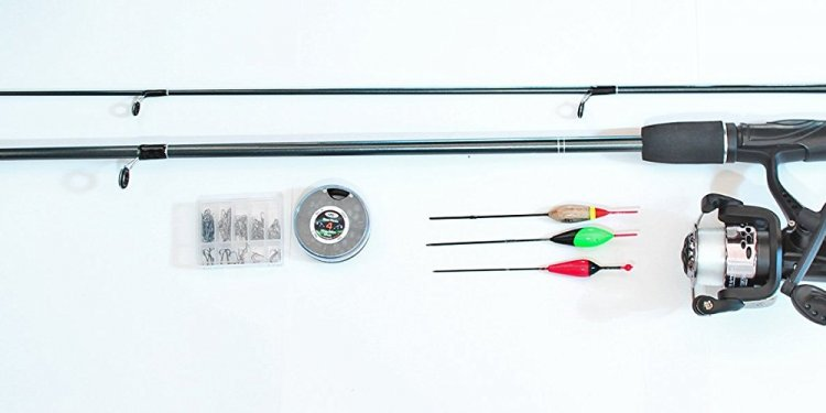 2 Piece Fishing Rod And Reel
