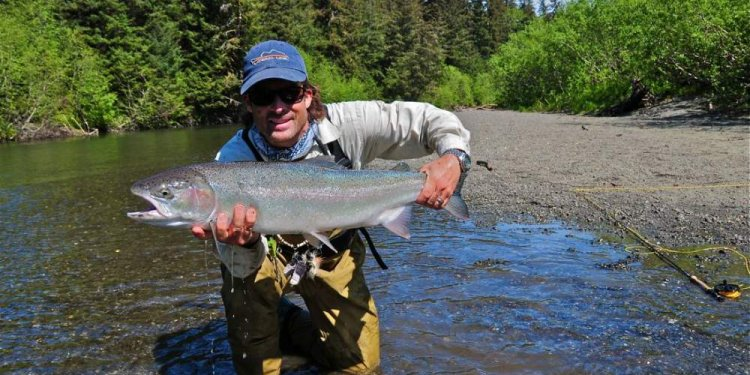 Alaska Fly Fishing for