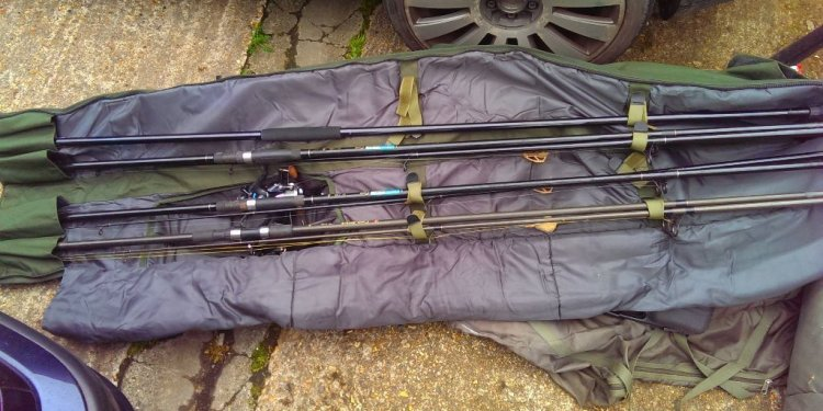 Of carp fishing equipment
