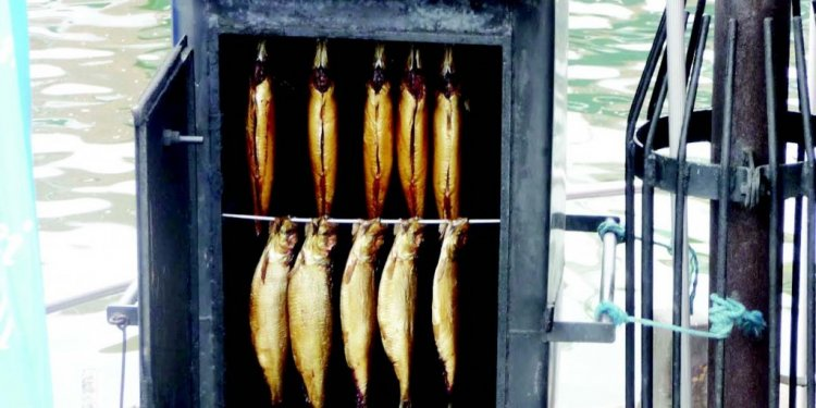 Nigerian smoked fish embraced
