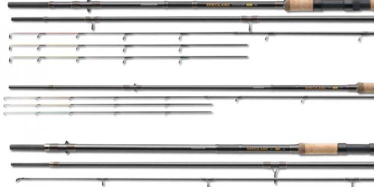 Coarse fishing rods