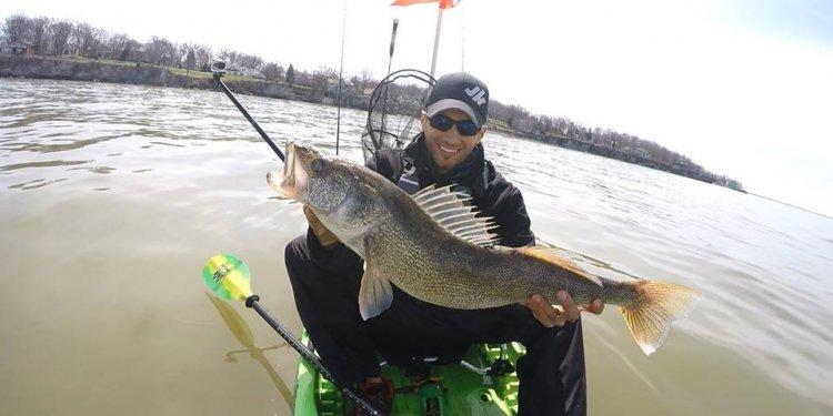 May: Smallmouth Bass on Lake