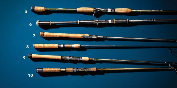 Rods, poles, fishing, best of