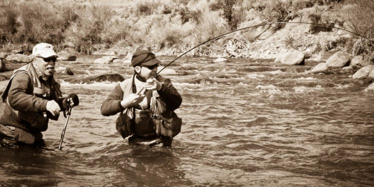 Fly Fishing The Wind River