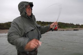 Casting - Fishing for coastal sea trout means casting... a lot of casting