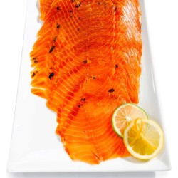 Citrus Basil Smoke Salmon