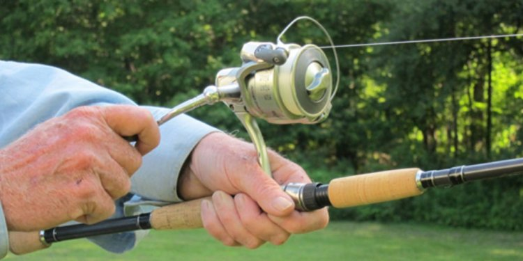 Open reel Fishing Rod