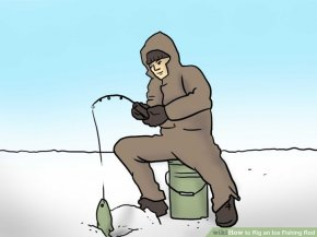 Image titled Rig an Ice Fishing Rod Step 1