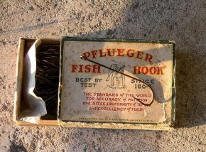 pflueger fish-hook old field fishing products