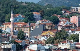 Plovdiv is a town made from seven hills.
