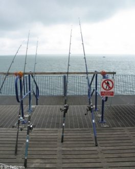 water Fishing Rods