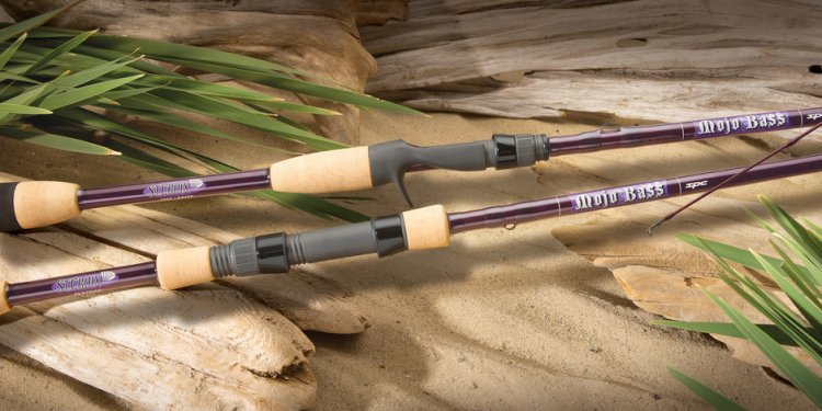 Bass fly fishing Rods