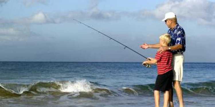 Beach Fishing Rods and reels