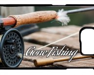 Bass fishing fly rod